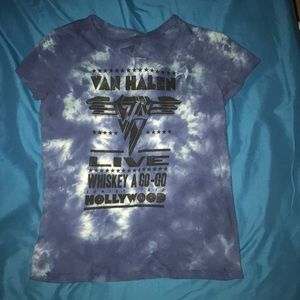 Van Halen AE T-shirt with neck detail 🦋